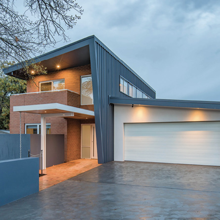 A home with strong, durable LYSAGHT steel cladding